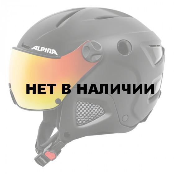 Зимний Шлем Alpina ATTELAS Visor QVM black matt