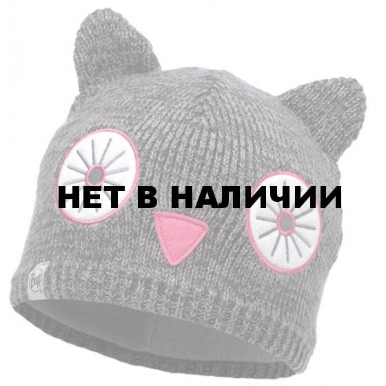 Шапка BUFF KNITTED & POLAR HAT CHILD SHILA GREY VIGORE (US:one size)