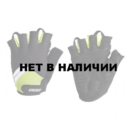 Перчатки велосипедные BBB 2018 HighComfort Memory Foam черный, неоновый, желтый