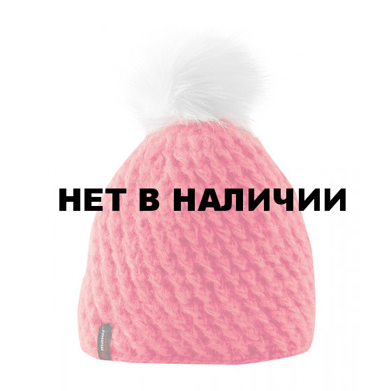 Шапка MAIER 2015-16 Accessories Pompon teaberry