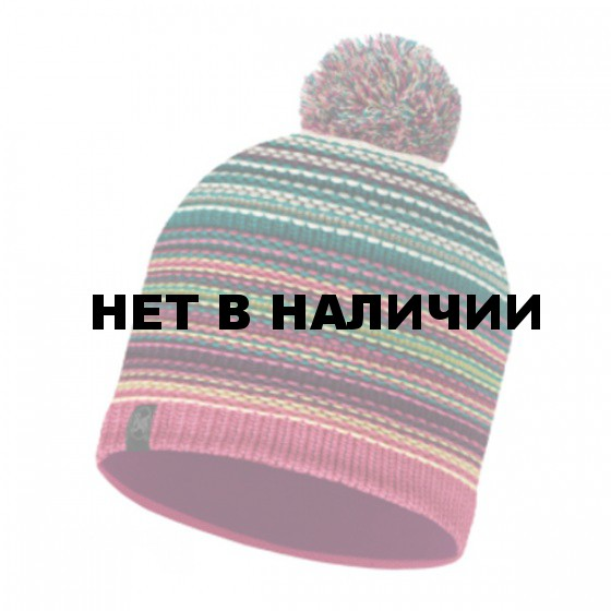 Шапка BUFF 2016-17 SKI CHIC COLLECTION KNITTED & POLAR HAT BUFF® NEPER MAGENTA