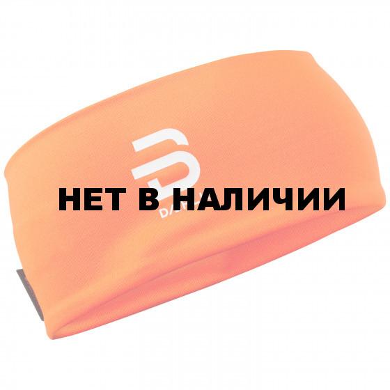 Повязка Bjorn Daehlie 2017-18 Headband Polyknit Shocking Orange (US:one size)