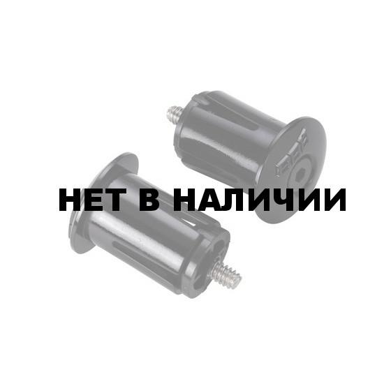 Заглушки для грипс BBB end caps ScrewOn 2pcs black (BHT-96)