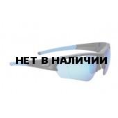 Очки солнцезащитные BBB Select Optic matt black PC Smoke blue MLC Lenses, blue temple tips (BSG-51)