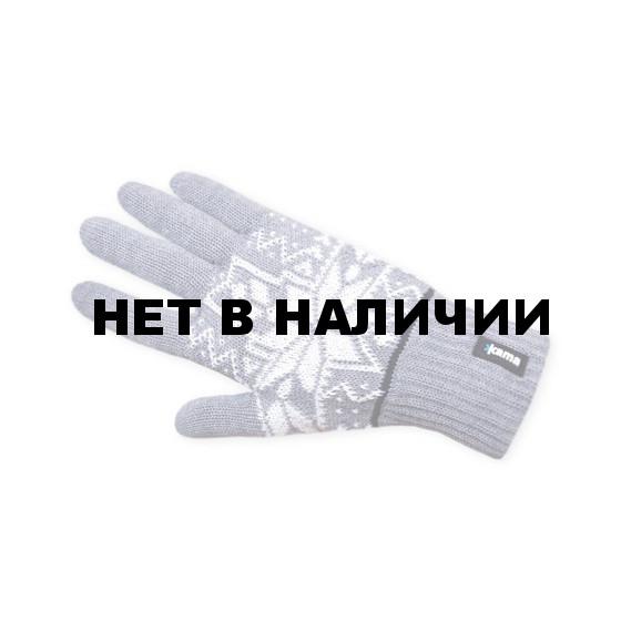 Перчатки флис Kama R12 (gray) светло-серый