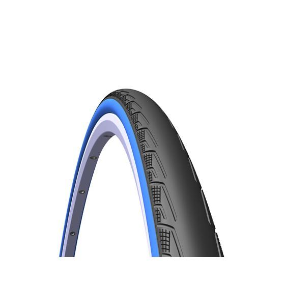 Велопокрышка RUBENA V80 SYRINX 700 x 23C (23-622) CL черный/синий