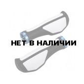 Грипсы BBB ErgoFix black white132mm (BHG-71)