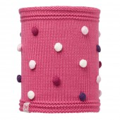 Шарф BUFF KNITTED KIDS COLLECTION CHILD KNITTED & POLAR NECKWARMER BUFF ODELL IBIS ROSE/OD