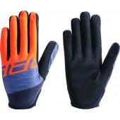 Перчатки велосипедные BBB 2018 LiteZone серый, оранжевый