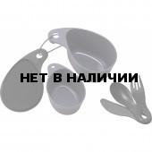 Компактный набор посуды (пластик) Primus Field Cup Set - Black