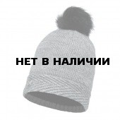 Шапка BUFF 2016-17 SKI CHIC COLLECTION KNITTED & POLAR HAT BUFF® AURA GREY CHIC
