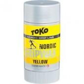 Мазь TOKO Nordic GripWax (желтая, 0С/-2С, 25 гр.)
