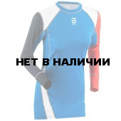 Футболка с длинным рукавомом Bjorn Daehlie 2016-17 Shirt DRY Wmn Electric Blue