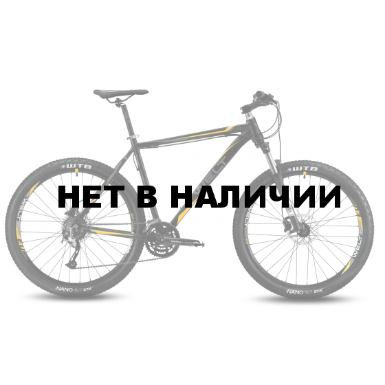 Велосипед Welt Rockfall 3.0 2016 matt black/orange