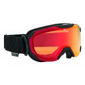 Очки горнолыжные Alpina PHEOS S QMM black mat_QL MM orange S2 (б/р:ONE SIZE)