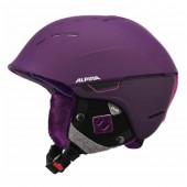 Зимний Шлем Alpina SPICE deep-violet matt