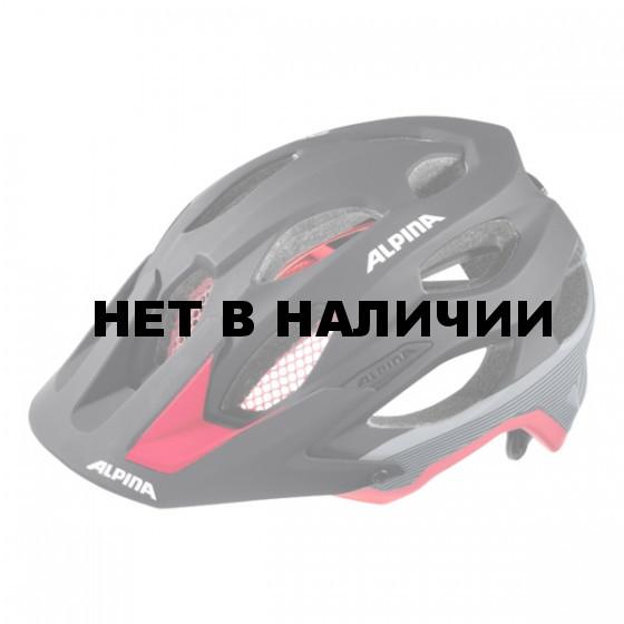 Летний шлем ALPINA 2017 Carapax black-red-darksilver