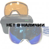 Очки горнолыжные Salice 605DARWF w. Coffre & Spare Lens BLUE/RW BLUE + SONAR