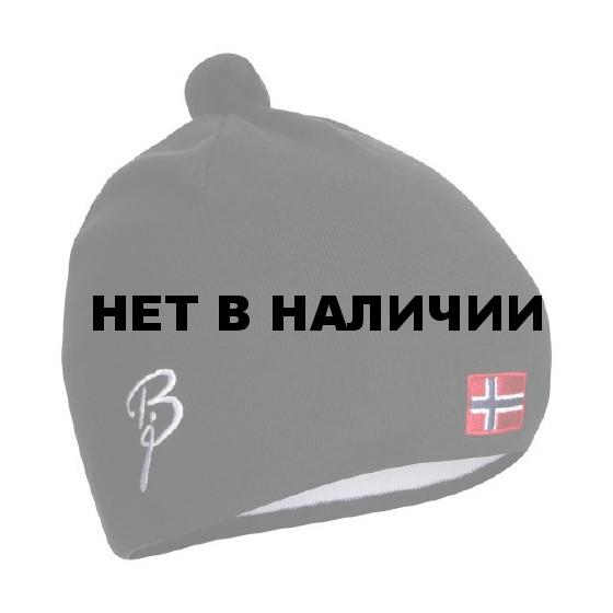 Шапка Bjorn Daehlie Hat CLASSIC Flag Black Flag (черный)