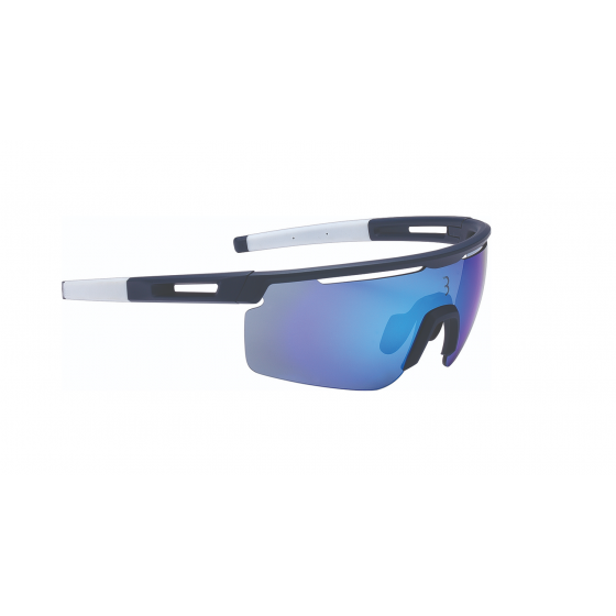 Очки солнцезащитные BBB 2018 Avenger PC dark blue lenses синий, белый