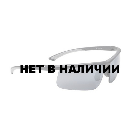 Очки солнцезащитные BBB Winner PC Smoke flash mirror lens gray tips матовый черный (BSG-39)