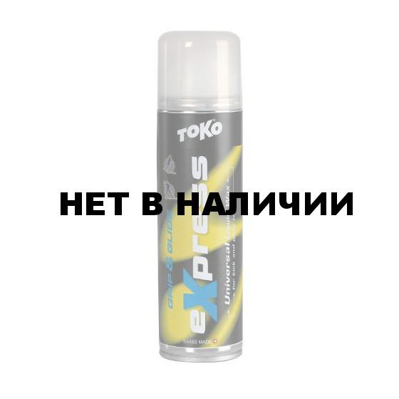 Спрей TOKO Express Wax Grip&Glide INT (универсальная c аппликатором 0/-30С, 200 мл)
