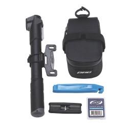 Дорожный вело-комплект BBB CombiPack (сумка+мультитул btl-42S+монтажка btl-81+ насос bmp-24) (BSB-51)