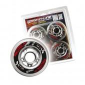Комплект колёс для роликов TEMPISH 2015 CATCH 80x24mm 82A (1*4pcs) серый