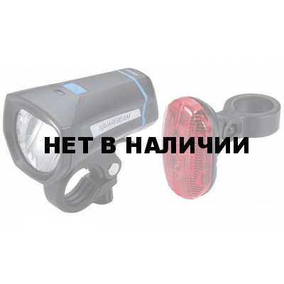 Фонари (комплект) BBB SquareCombo Stvzo 2xAAA + 4x AAA черный (BLS-102K)