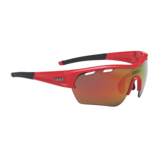 Очки солнцезащитные BBB 2018 Select XL MLC red XL lens black tips красный