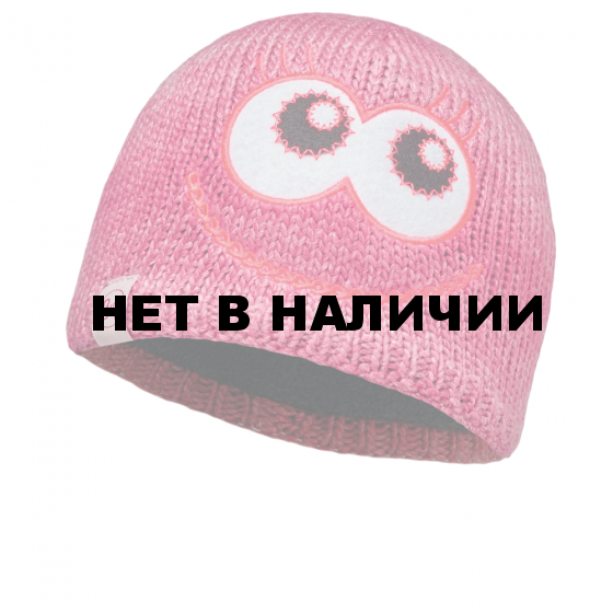 Шапка BUFF KNITTED KIDS COLLECTION CHILD KNITTED & POLAR HAT BUFF MONSTER MERRY PINK/OD