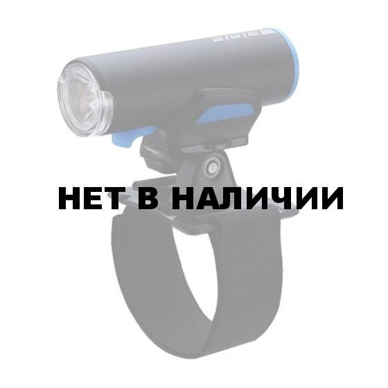 Фонарь передний BBB ScoutCombo 200 lumen LED w/helmetmount черный/синий (BLS-116)