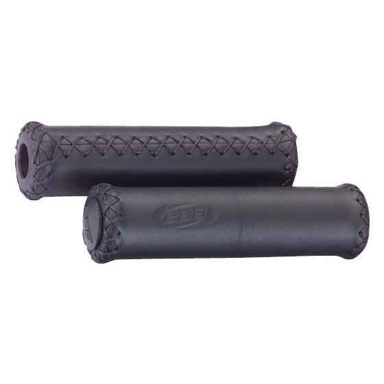 Грипсы BBB Trekking Exclusive leather grips 128 mm black (BHG-26)
