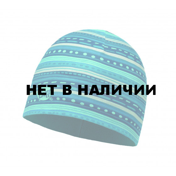 Шапка BUFF MICROFIBER & POLAR HAT CHILD FRILL TURQUOISE (US:one size)