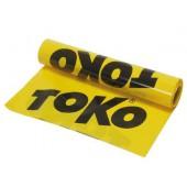 Непромокаемая, ткань TOKO Ground Sheet (желтый полиэтилен 25м х 1,2 м)
