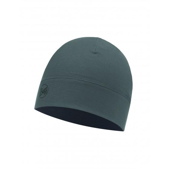 Шапка BUFF MICROFIBER 1 LAYER HAT SOLID GREY CASTLEROCK
