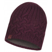 Шапка BUFF KNITTED & POLAR HAT HELLE WINE