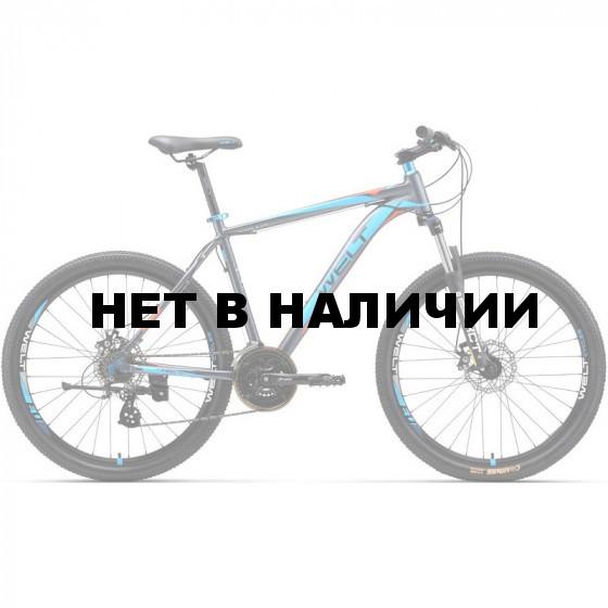 Велосипед Welt 2018 Ridge 2.0 D 29er matt grey/orange/blue (US:M)