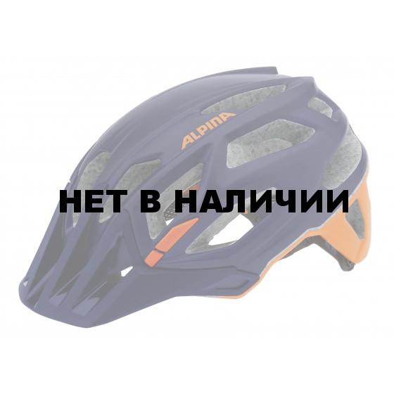 Летний шлем ALPINA Enduro Garbanzo darkblue-orange
