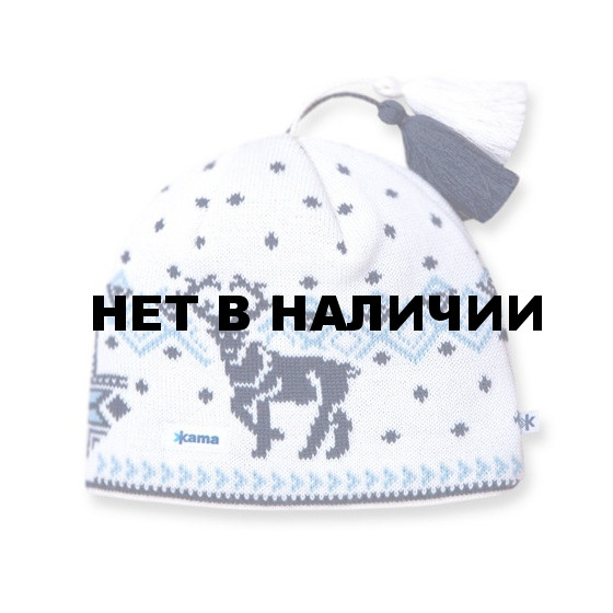 Шапка Kama AW12 (off-white) белый