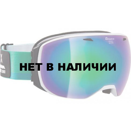 Очки горнолыжные Alpina BIG HORN MM green/white/blue (coldgreen) (б/р:ONE SIZE)