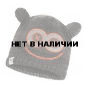 Шапка BUFF CHILD KNITTED & POLAR HAT MONSTER JOLLY BLACK CHILD