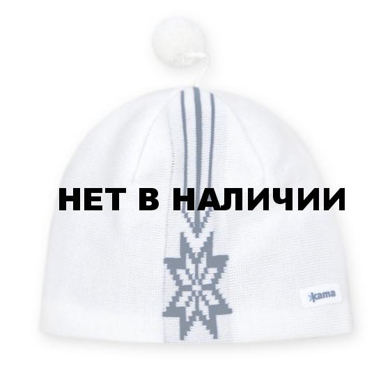 Шапка Kama AW15 (off-white) белый