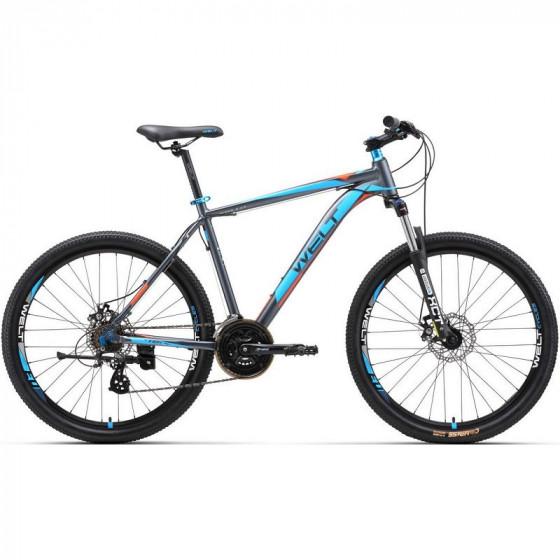 Велосипед Welt 2018 Ridge 2.0 D matt grey/orange/blue