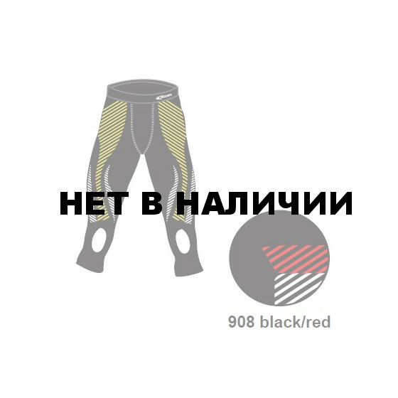 Брюки 3/4 ACCAPI 3/4 TROUSERS MAN black / red (US :M-L)