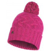 Шапка BUFF KNITTED & POLAR HAT EBBA BRIGHT PINK