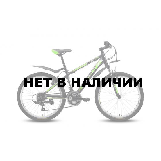 Велосипед Welt Peak 24 2016 matt black/green