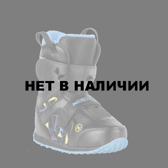 Ботинки для сноуборда NIDECKER 2017-18 MINI PLAYER BLACK