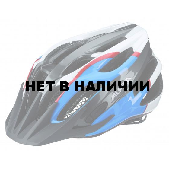 Велошлем Alpina 2018 FB Jr. 2.0 Flash anthracite-blue-red-white