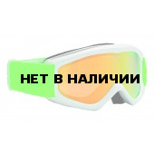Очки горнолыжные Alpina Carat D MM white/green_MM Orange S2